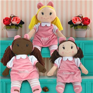 Embroidered Little Darlings Plush Dolly E123757RX
