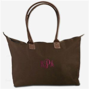 Embroidered Monogram Tote Bags | Personalized Tote Bags