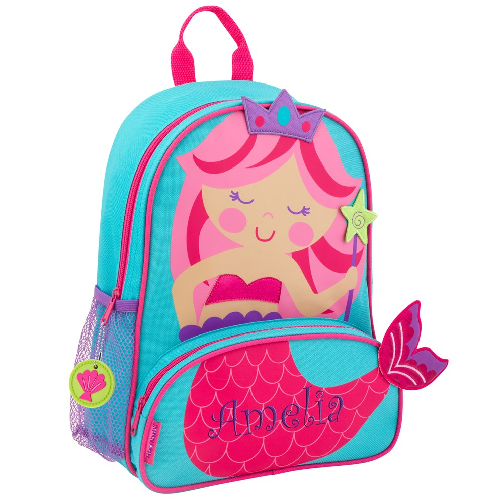 Personalized Sidekicks Mermaid Backpack | Personalized Backpack for Girls