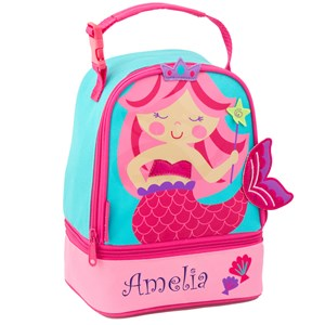 Personalized Mermaid Lunch Pal | Personalized Lunch Bags