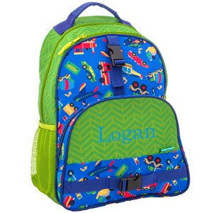 Personalized All Over Print Transportation Backpack | Personalized Backpacks