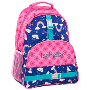 Personalized All Over Print Rainbow Backpack | Personalized Backpack