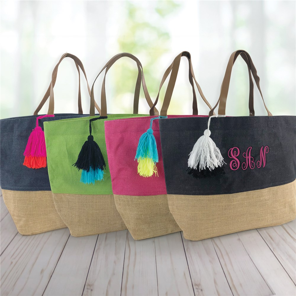 Personalized Tote Bags | Monogrammed Tote Bags