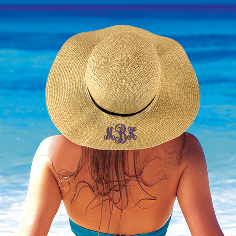 Embroidered Floppy Hat | Customized Sun Hat