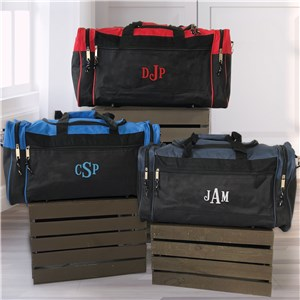Personalized Travel Duffel Bag | Monogrammed Travel Bag