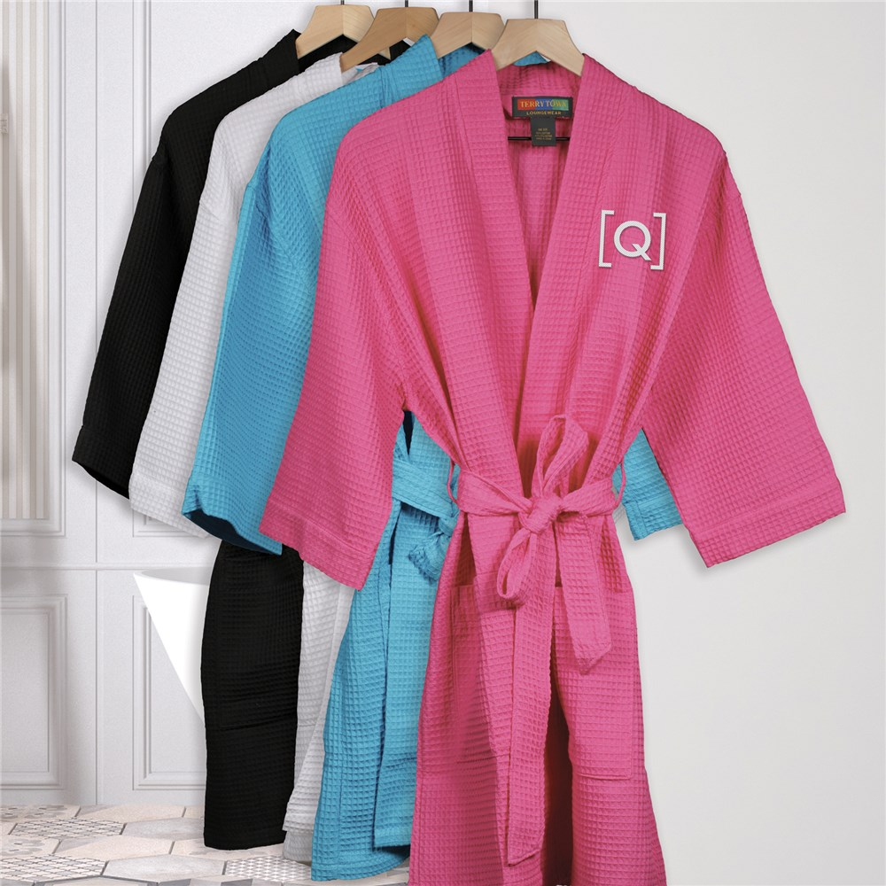 Embroidered Robes | Embroidered Initial Robe