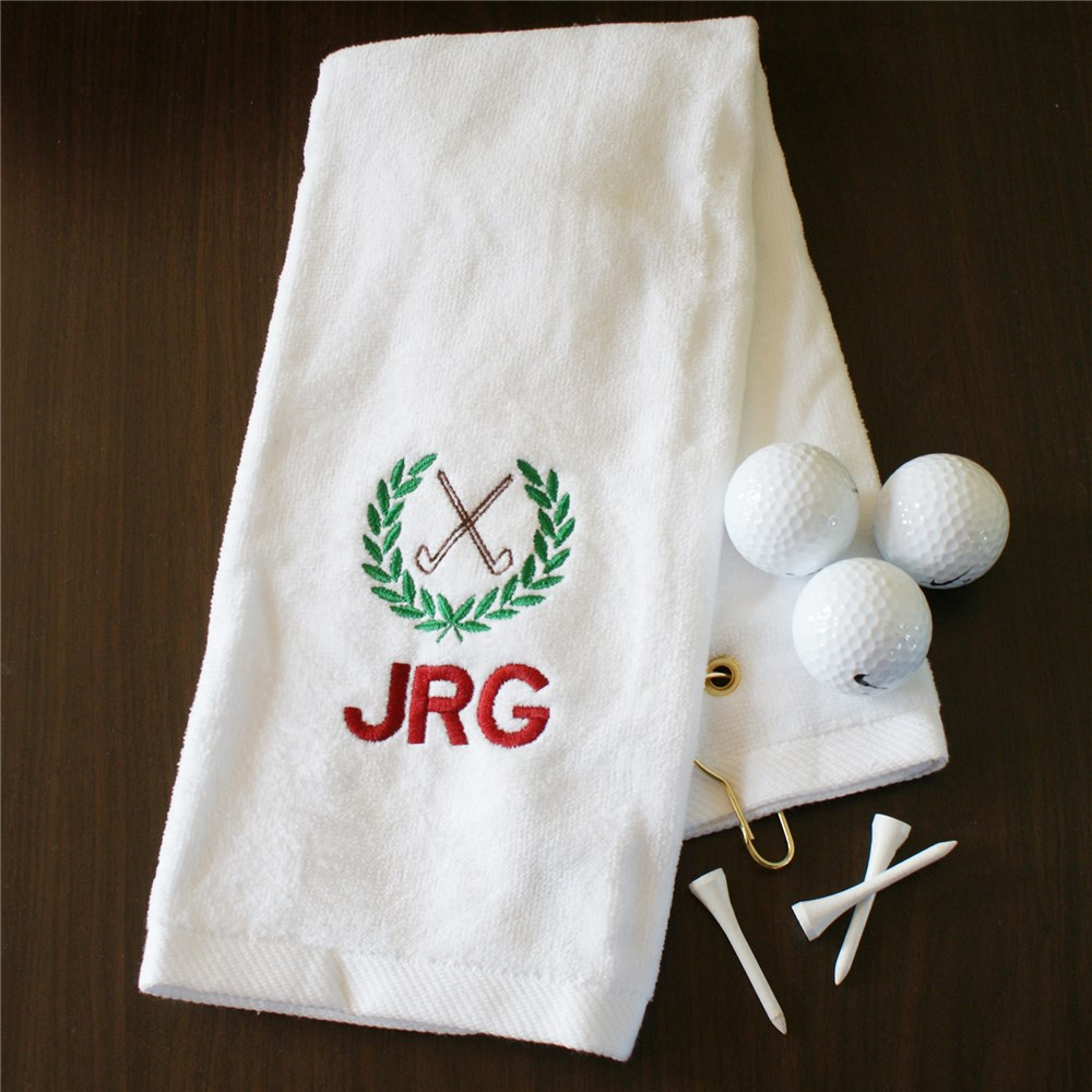 Personalized Golf Towels | Golf Gifts For Dad