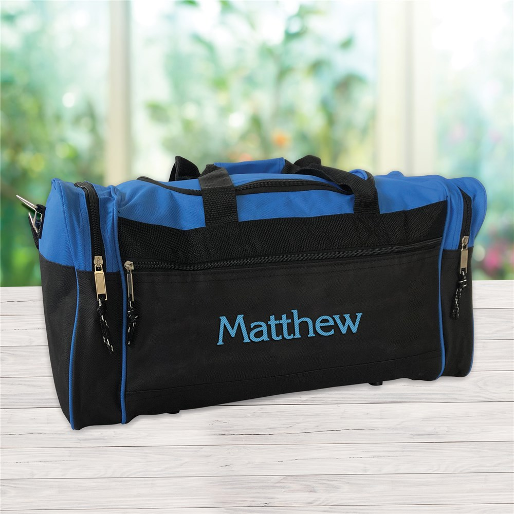 Embroidered Any Name Duffel Bag | Best Selling Father's Day Gifts