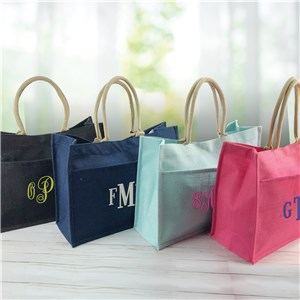 Monogrammed Tote Bag | Personalized Tote Bag