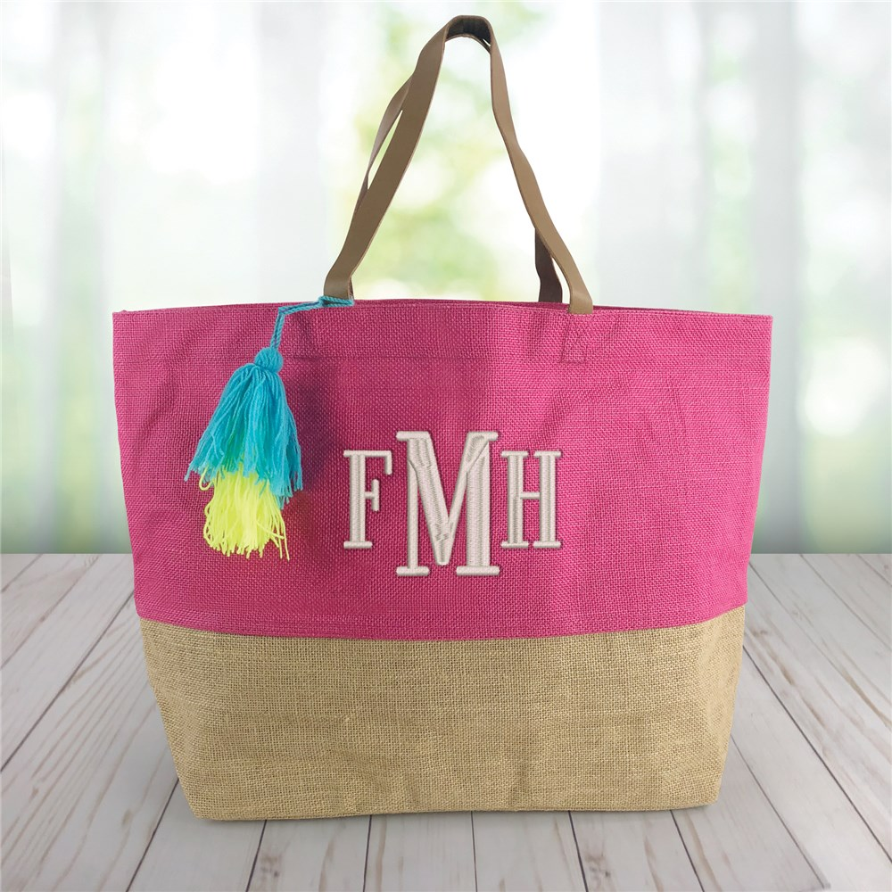 Personalized Tote Bag | Jute Tote Bag