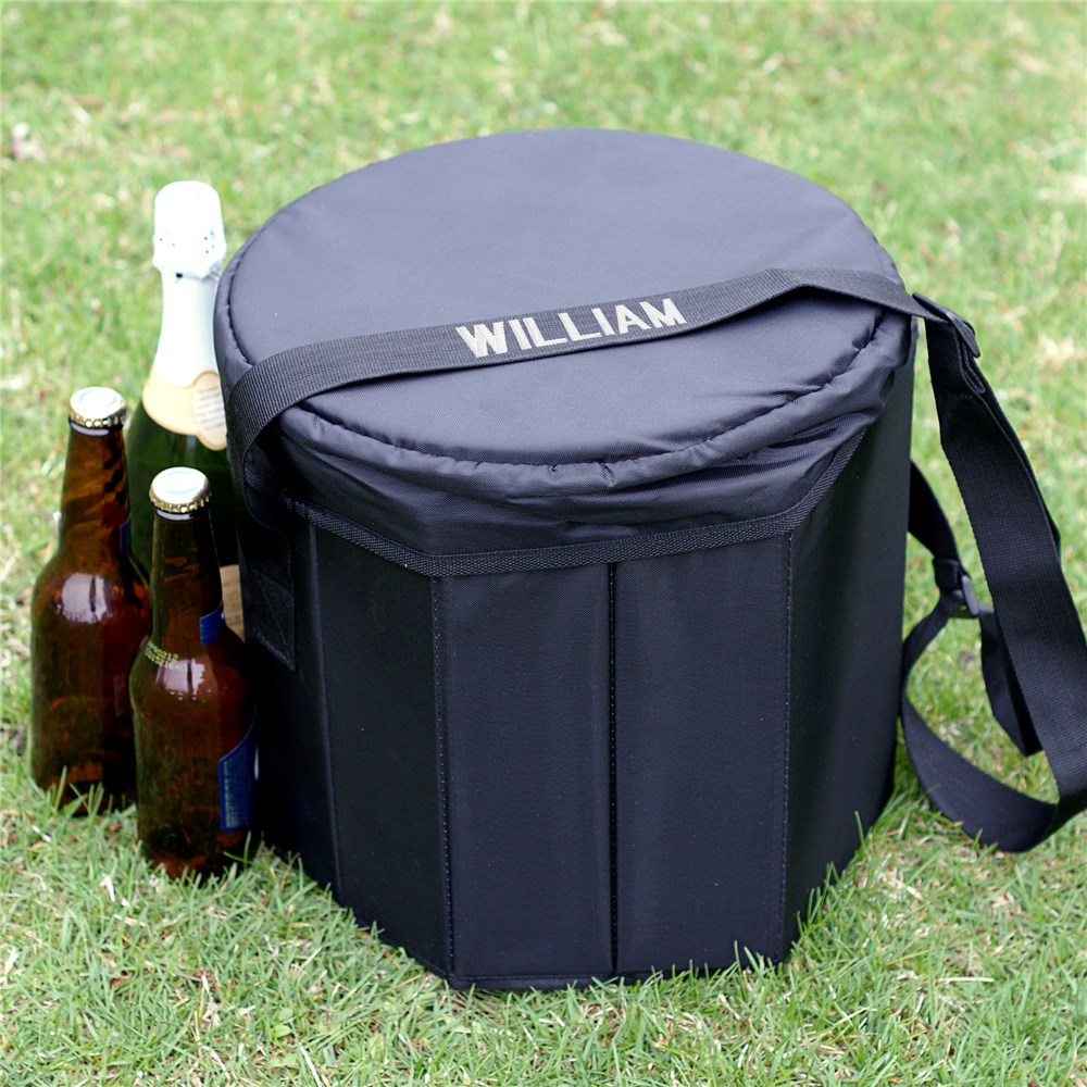 Embroidered Bongo Cooler | Personalized Groomsmen Gifts