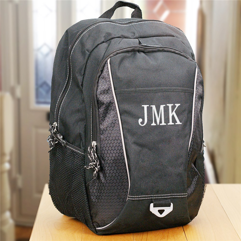 Embroidered Computer Backpack | Personalized Bags