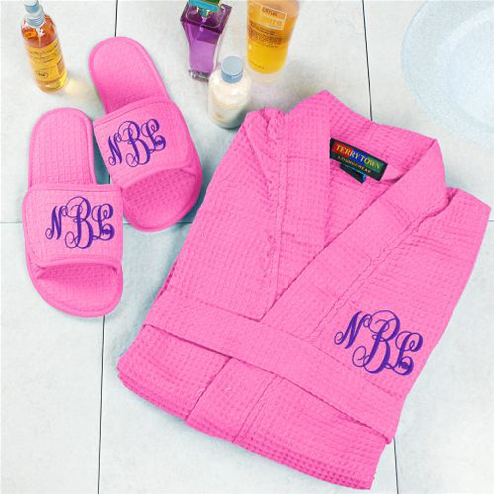 Monogram Spa Gift Set | Monogrammed Robe Set