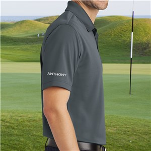 Personalized Grey Port Authority Polo Shirt E9916420CGX