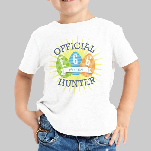 Easter Egg Hunt T-Shirt | Personalized Easter T-Shirt For Toddlers