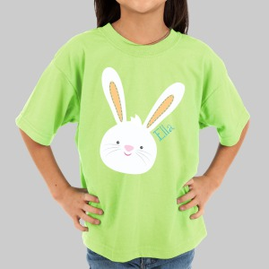 Easter Bunny Personalized T-Shirt | Personalized Easter Shirts For Toddlers