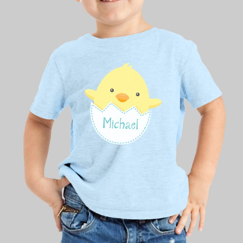 Easter Chick Personalized T-Shirt | Personalized Easter T-Shirt