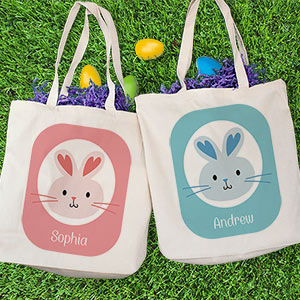 Easter Bunny Personalized Tote Bag 8100852