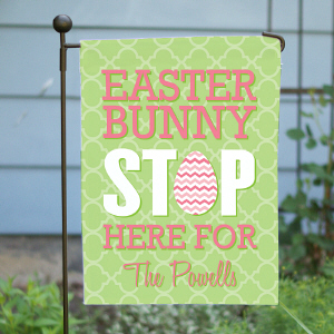 Custom Printed Easter Garden Flag