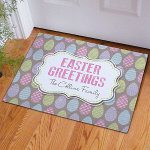 Easter Greetings Doormat