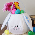 Easter Gift Basket Blue Bunny