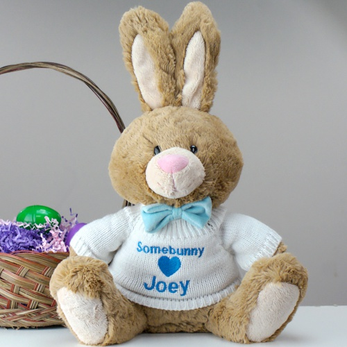 Embroidered Brown Bunny 9093682