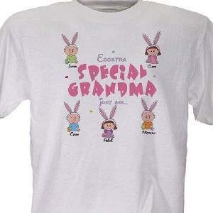 Personalized  Easter T-Shirt - Eggstra Special