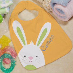 Personalized Baby Easter Bib