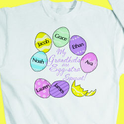 Egg-stra Special Personalized Sweatshirt