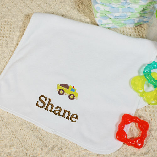 Embroidered Icon Baby Burp Cloth E364941