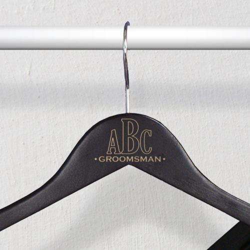 Monogram Wedding Hangers L771277X