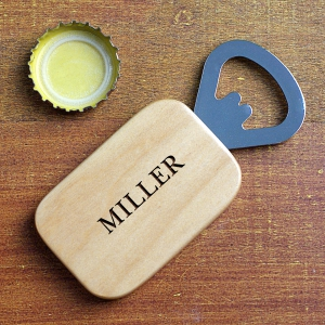 Any Name Engraved Bottle Opener