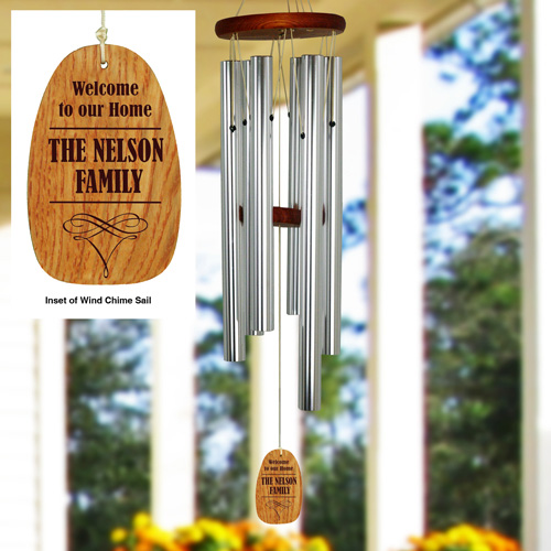Personalized Family Name Wind chime L9957140
