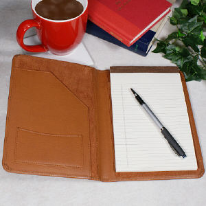 Lawyer Personalized Leather Portfolio