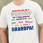 Anybody Can Be...Grandpa Personalized T-Shirt