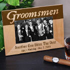 Personalized Groomsmen Wood Picture Frame