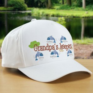 Keepers Fishing Personalized Hat