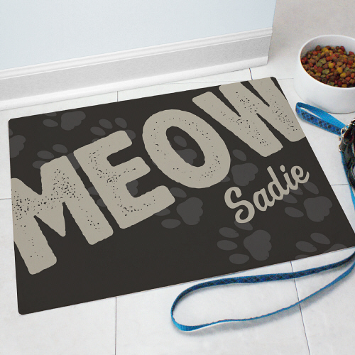 Personalized Pet Food Mat 8319339X