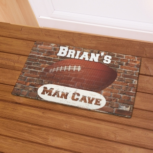 Football Man Cave Doormat | Mancave Gifts