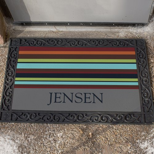 Persoanlized Family Welcome Doormat | Personalized Doormats