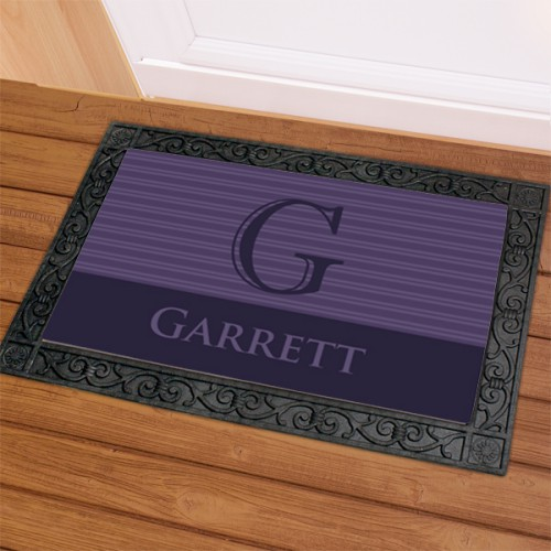 Family Doormat | Monogram Doormat