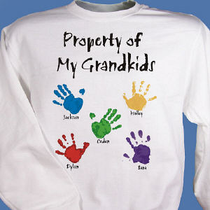 Property of  Personalized Sweatshirt