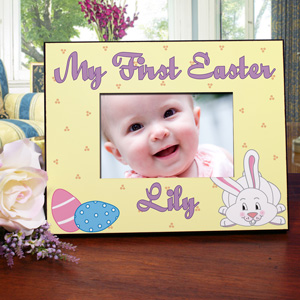Personalized My First Easter Picture Frame