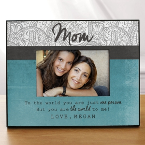 Personalized Mom Picture Frame | Mom Photo Frames
