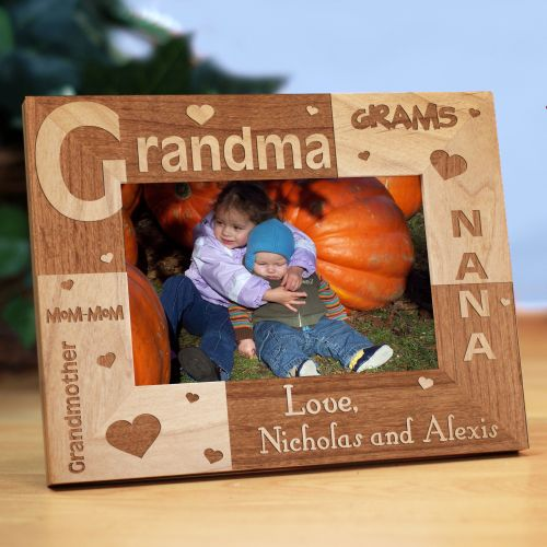 Personalized Grandma Frame | Personalized Gifts For Grandma