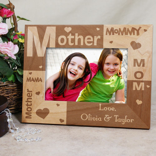 All About Mom Personalized Frame | Gifts For Mom