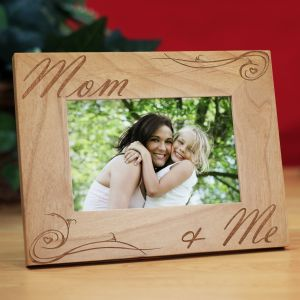 Personalized Mom and Me Picture Frame | Gift For Mom