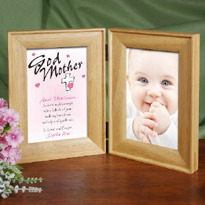 Personalized Godparent Picture Frame - Count My Blessings | Personalized Picture Frames