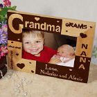Personalized Grandma Frame - all about Grandma