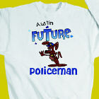 Future Policeman Youth Sweatshirt